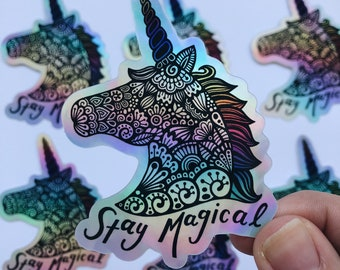 Stay Magical - Holographic sticker