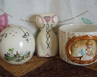 Vintage Romantic Collection of Ceramics