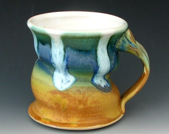 STONEWARE MUG # 14 - Coffee Mug - Ceramic Mug - Stoneware Mug - Ceramic Coffee Mug - Stoneware Coffee Mug - Ceramic Tea Mug - Pottery Mug