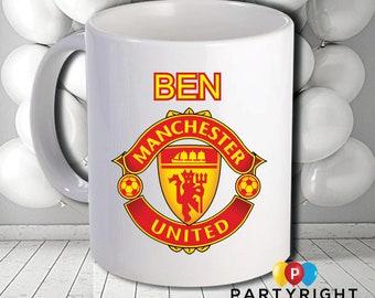 Personalised Manchester Mug - Dishwasher Safe - 10oz