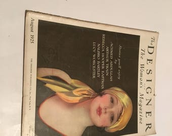 august 1925 the designer and the woman's magazine