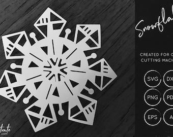 Snowflake cut file