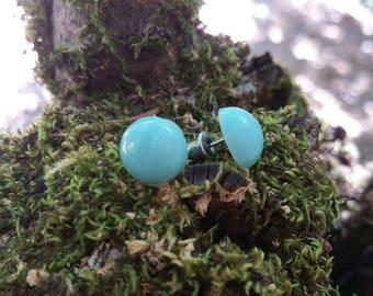 Vintage Costume Jewelry Stud Earrings