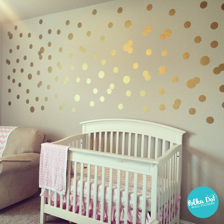 Polka Dot Wall Stickers By Polkadotwallstickers On Etsy