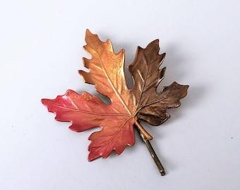Leaf Hair Pin, Bobby pin