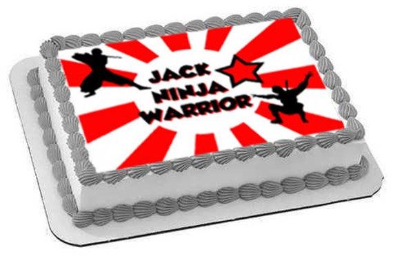 Ninja Edible Cake Toppers Ninja Edible Cake Image Ninja