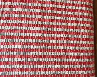 Sweetwater - Freedom 564311- Moda - One Week Sale - 8.99 A Yard - Freedom Allegiance Vanilla Red Stripe