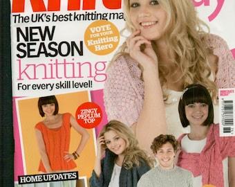 Knit Today Knitting Magazine Issue 76 September 2012