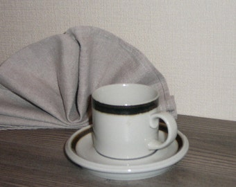 Vintage Finland Arabia Cup and Saucer @65