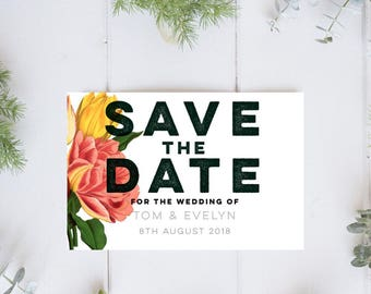 Floral Save the Date. Magnet Save date. Rustic save the date. Custom Save the Date magnets. Wedding magnets.Invitation magnets.Save our date