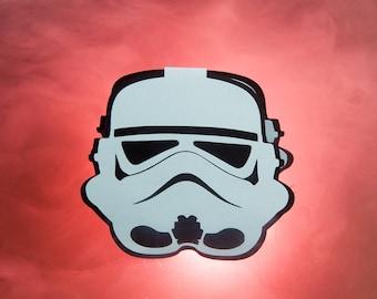 "Star Wars ""Darth Vader"" card / / Strom Trooper card / / Star Wars card"