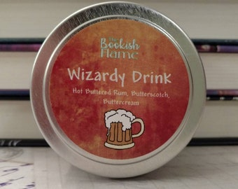 Wizardy Drink 4 oz. Soy Candle