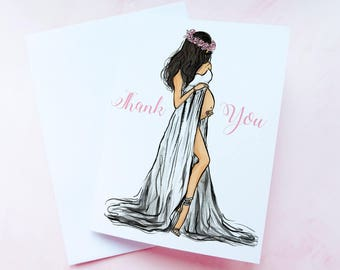 Baby shower thank you cards set, Unique baby shower favors, Thank you cards baby shower, Personalized baby shower thank yous - Set of 10