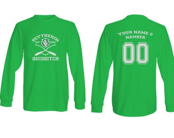 Harry Potter Quidditch Slyterin Long Sleeve