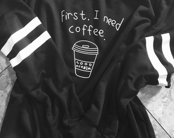 Coffee lover graphic pullover