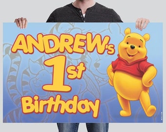 BANNER - Custom Birthday Banner - Vinyl Banner