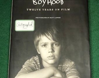 Signed Boyhood Twelve Years On Film Coffee Table Book (autographed by director, actor, producer and photographer)