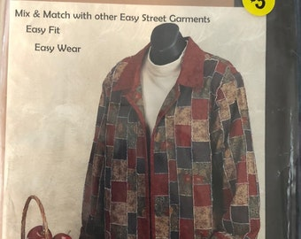 Easy Street Garments Pattern Simple Patches Jacket