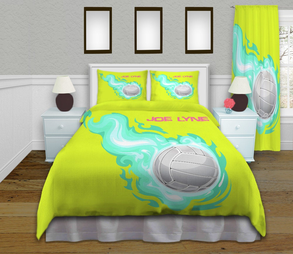 Volleyball Comforter Kid Sports Bedding Kids Comforters Set