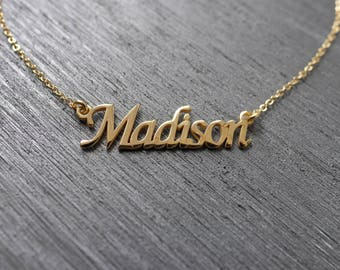 Personalized Name Necklace, Custom Name Necklace, Name necklace, Personalized Name Jewelry, Custom Name, Name Jewelry, Personalized Gift