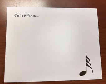 Custom Musical Notecards