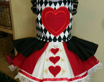 Red Queen Dog Costume