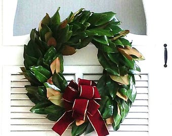 Live Magnolia Wreath