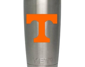 Vinyl Decal - University of Tennessee Power T Decal for Cars, Windows, Walls, Laptops, etc...