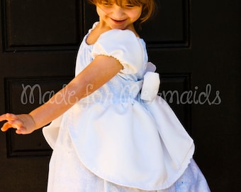 Cinderella Ball Gown Dress everyday princess PDF Pattern instant download 6mnth-8years
