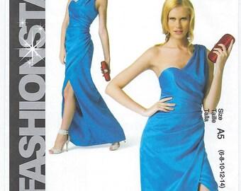 McCalls 6837 (A5) - MISSES Dress / Sizes 6, 8, 10, 12, 14