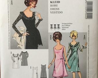 Burda Sewing Pattern 7044 Ladies Misses Dress Size 6-18 Uncut