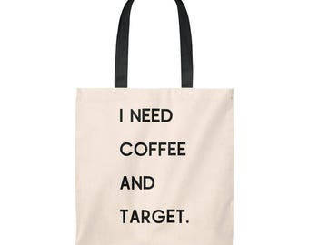 Coffee And Target  Shop Bag