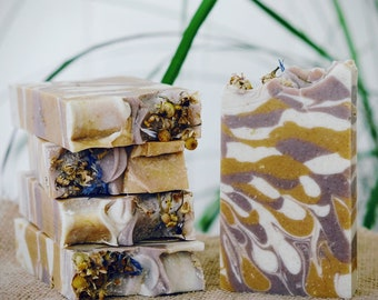 Snooze Fest Vegan Coconut Milk Soap with Chamomile and Oatmeal