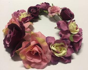 Flower Crown Headband