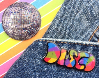 Disco Pin Set