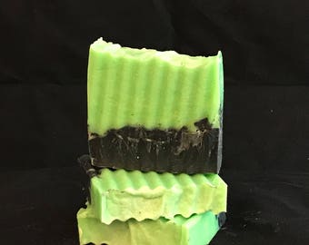 Hulk | Handmade Soap | Activated Charcoal Soap