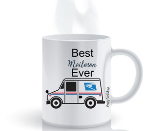 Best Mailman Ever Mailman Coffee Mug