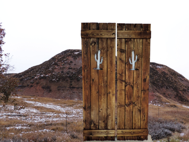 Western Saloon Doors : Saloon doors cafe wooden gate western home decor