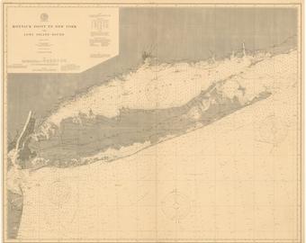 Long Island Map 1899
