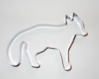Fox cookie cutter  Woodland cookie cutter animal zoo