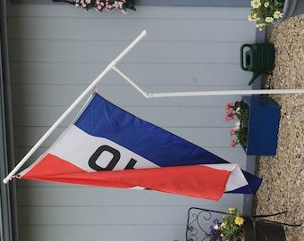 "Rotating 1"" PVC Flag Pole"