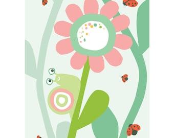 Snail card - Eco friendly