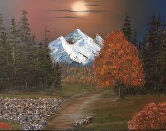 Oil painting, Original Landscape, Oil on Canvas