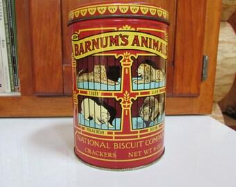 Nabisco National Biscuit Company Barnum's Animals 1979