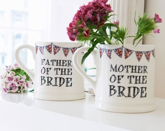 Wedding mug - Mother or Father of the Bride