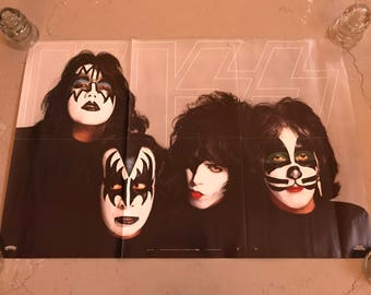 Kiss: Original 1979 Dynasty Poster (insert from album)
