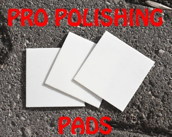 3 Pro Polishing Pads for your Silver Jewelry