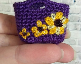 Doll clothing bag accessories crochet summer handbag curvy barbie clothes wwe fashion royalty 1/6 bjd poppy parker monster ever after high