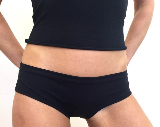 Black Bamboo Panties by So-Fine