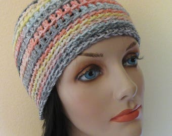 Pastel Beanie, Snow Hat, Cold Weather Hat, Hockey Mom, Ice Skating, Snow Playing, Ski Hat
